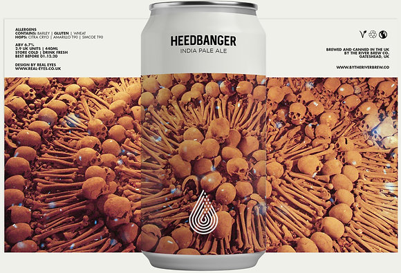 By The River Brewing - Heedbanger. 6.7%