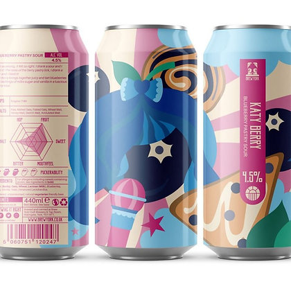 Brew York - Katie Berry. 4.5%