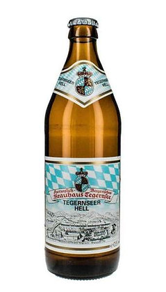 Tegernseer Hell - Helles lager. 4.8%