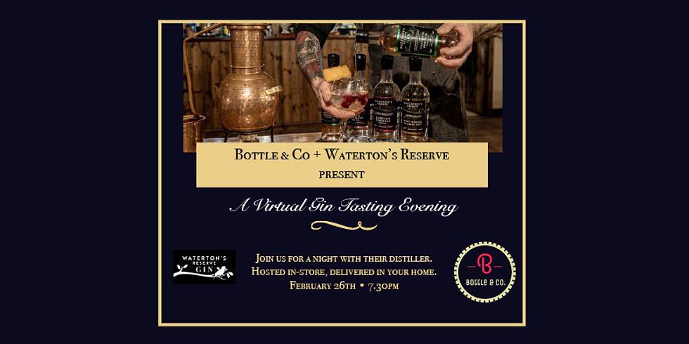Waterton's Reserve Gin Tasting Evening