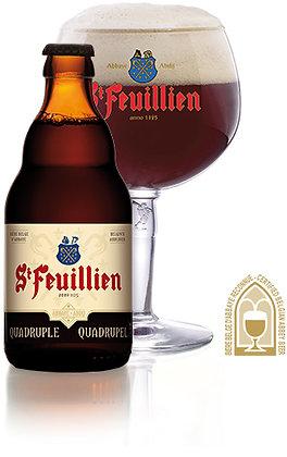 St Feuillien Quadruple. 11%