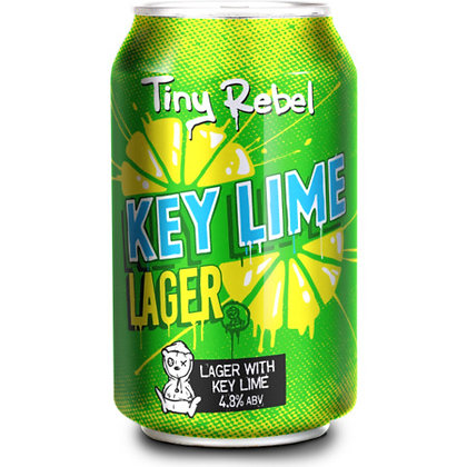 Tiny Rebel - Key Lime Lager. 4.8%