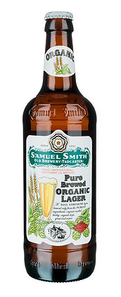 Samuel Smiths - Pure Brewed Organic Lager. 5%