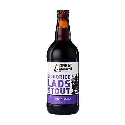 Great Newsome - Liquorice Lads Stout. 4.3%
