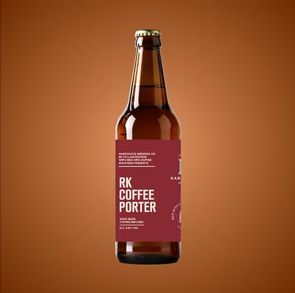 Harrogate Brewing Co. - RK Coffee Porter. 4.8%