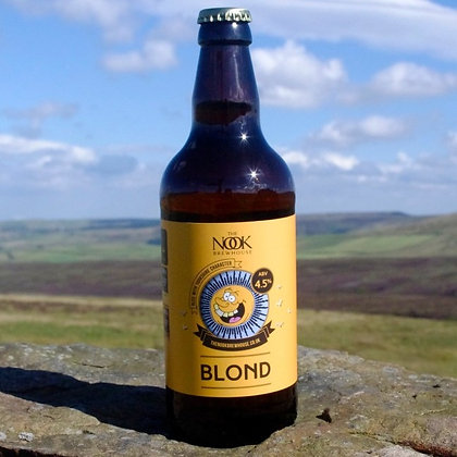 Nook Brewhouse - Blond. 4.5%