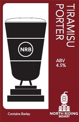 North Riding Brewery - Tiramisu Porter 4.5%