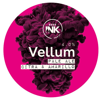 Beer Ink - Vellum. 4%