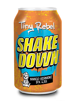 Tiny Rebel - Shake Down. 4.5%