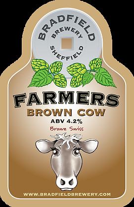 Bradfield Brown Cow. 4.2%