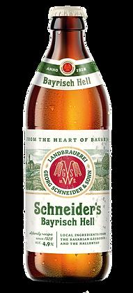 Schneider's - Bayrisch Hell . 4.9%