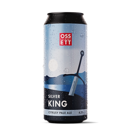 Ossett Brewery - Silver King. 4.3%