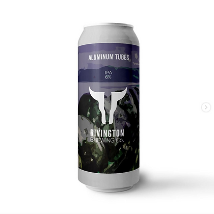 Rivington Brewery - Aluminum Tubes. 6%