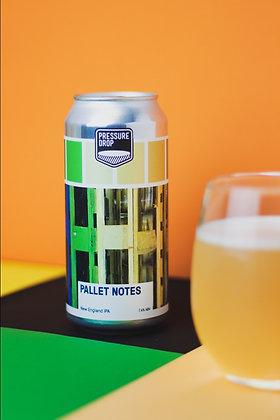 Pressure Drop - Pallet Notes. 7.4%