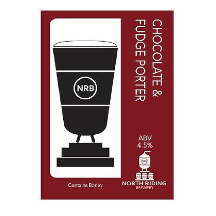 North Riding Brewery - Choc Fudge Porter. 4.5%
