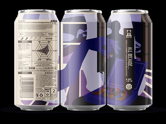 Brew York - All Because.... 4.8%