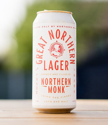Northern Monk - Northern Lager. 4.3%