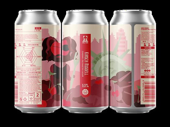 Brew York - Kirsch Russell. 6.5%
