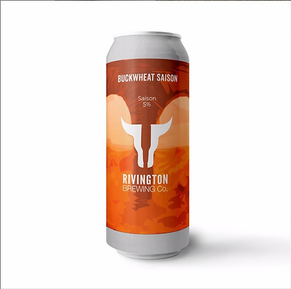 Rivington Brewery - Buckwheat Saison.  5.0%