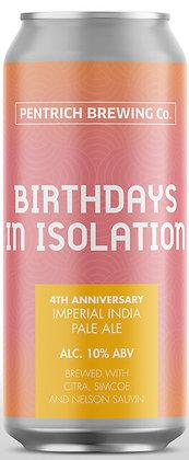 Pentrich Brewing Co. - Birthdays in Isolation. 10%