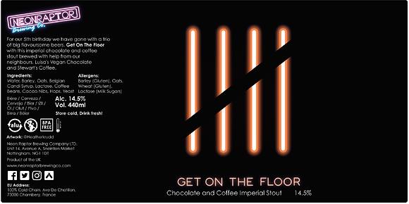 Neon Raptor - Get On The Floor. 14.5%