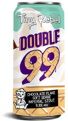 Tiny Rebel - Double 99. 9.9% Stout