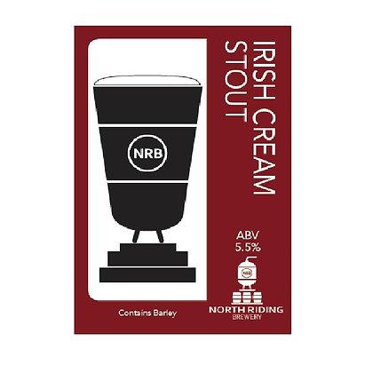 North Riding Brewery - Irish Cream Stout. 5.5%