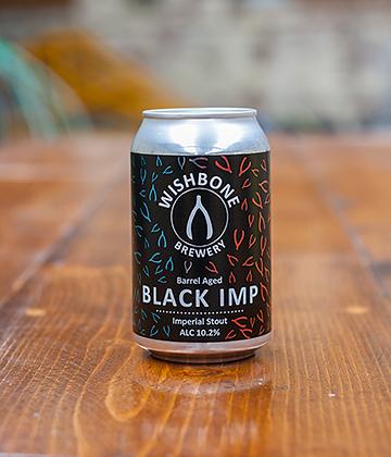Wishbone Brewery - Barrel-aged Black Imp 10.2%