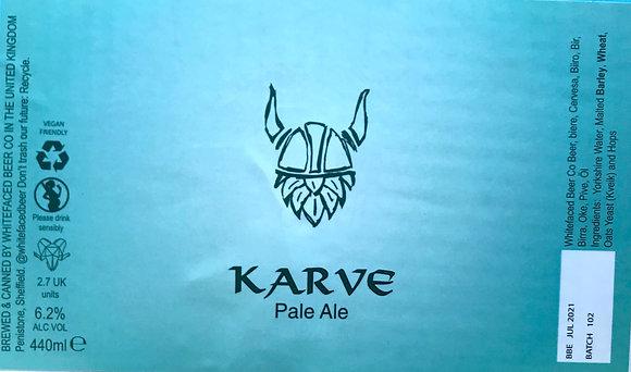 Whitefaced Beer Co. - Karve. 6.2%