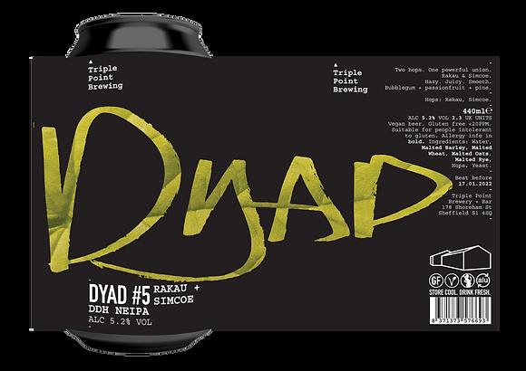 Triple Point Brewing - Dyad #5. 5.2%