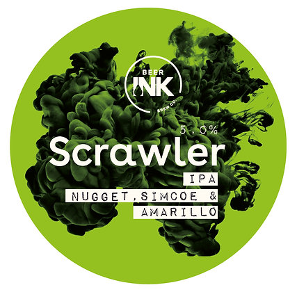 Beer Ink - Scrawler. 5%