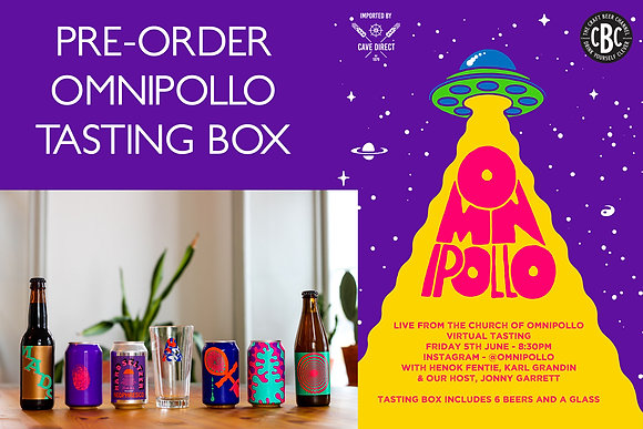 Live from the Church of Omnipollo tasting box & event