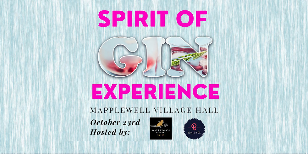 Spirit of Gin Experience