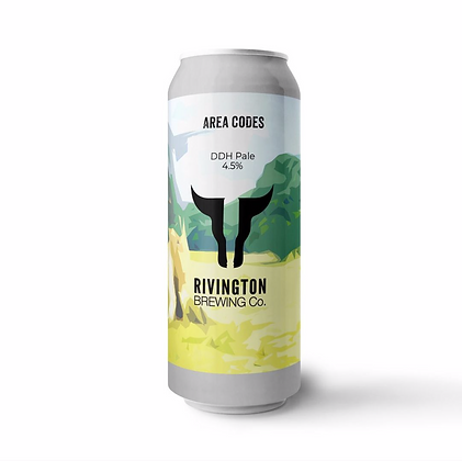 Rivington Brewery - Area Codes. 4.5%