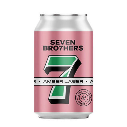 Seven Brothers - Amber Lager. 4.3%