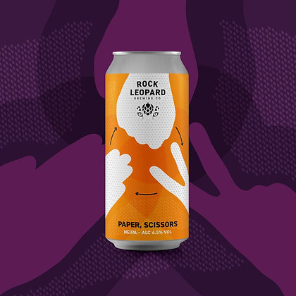Rock Leopard - Paper Scissors. 6.5%