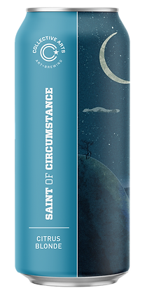 Collective Arts - Saint of Circumstance Blonde. 4.7%