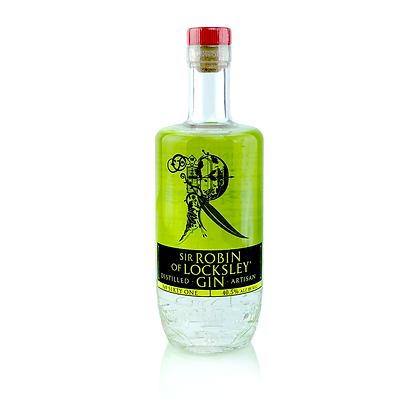 Sir Robin of Locksley® Distilled Artisan Gin. 40.5%