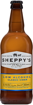 Sheppy's Low Alcohol Classic Cider 0.5%