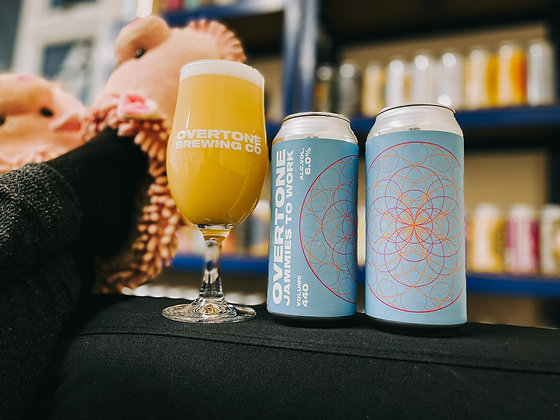 Overtone Brewing - Jammies To Work. 6%