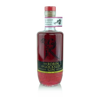 Real Raspberry & Cardamom Infused Sir Robin of Locksley Gin. 40.5%