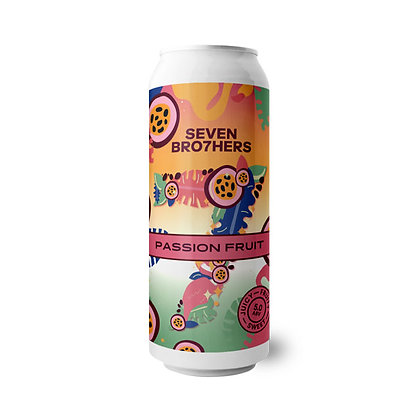 Seven Brothers - Passion Fruit. 5%