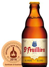 St Feuillien Blonde. 7.5%