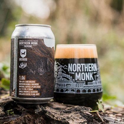 Northern Monk - 1.06 Tom Joy Impy Coffee/Plum Stout. 11%