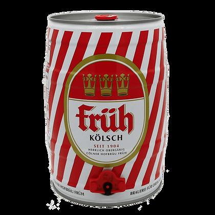 Fruh Kolsch. 4.8% 5-Litre Mini Keg