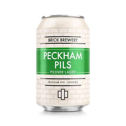 Brick Brewery - Peckham Pils. 4.8%