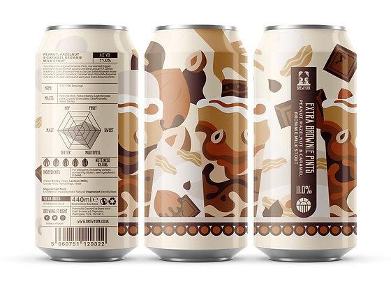 Brew York - Extra Brownie Pints. 11%