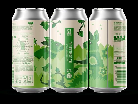 Brew York - The Hoptimist 2021. 9.1%