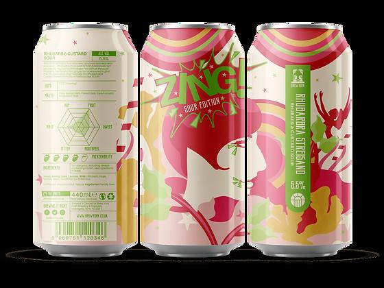 Brew York - Rhubarbara Streisand SOUR Edition. 5.5%
