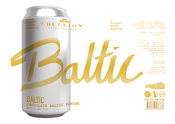 Triple Point Brewing - Baltic. 7.4%